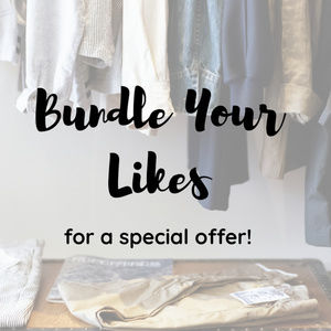 Other - Bundle Likes for a Special Discount!